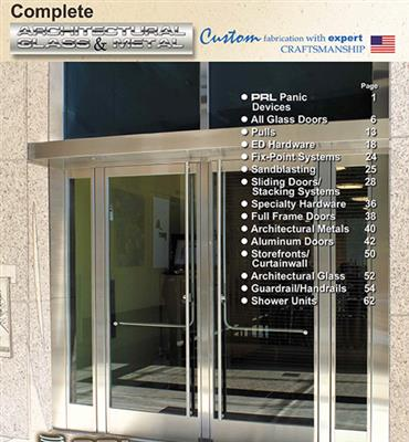 2011 ARCHITECTURAL GLASS AND METAL CATALOG