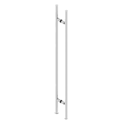 "48"" OAD/36"" CTC LADDER PULL #8 S/S"