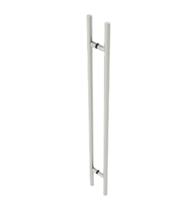 "60"" OAD/ 48"" CTC LADDER PULL CLR ANOD"