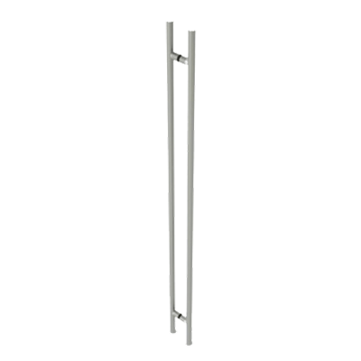 "84"" OAD / 72"" CTC LADDER PULL CLR ANOD"