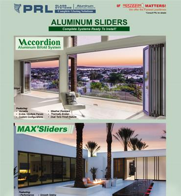 ALUMINUM SLIDERS CATALOG