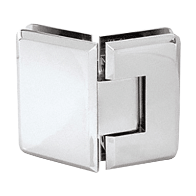 CHROME BEVERLY (BEVELED) 135 DEG G/G HINGE
