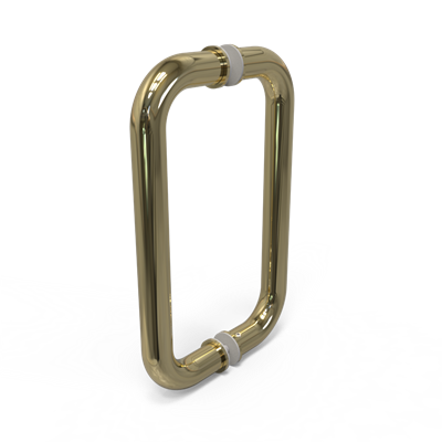 "PL-3 10"" C.T.C PULL IN POL BRASS"