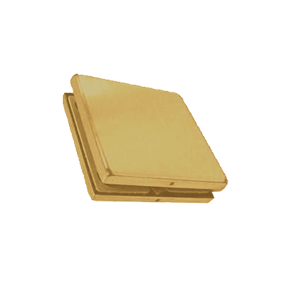 SL/SL 180 DEG BRACKET SATIN BRASS