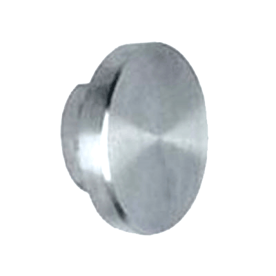 RUBY TRACK END CAP POLISHED S/S