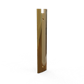 PL1000 DRY-SET END CAP POLISHED BRASS